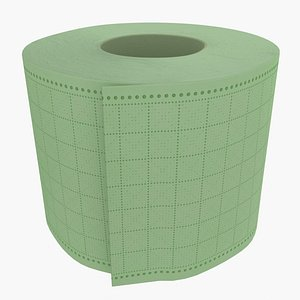 Toilet Paper 06 3D model