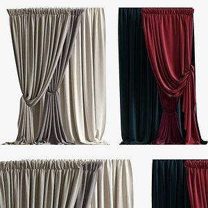 curtain 07 3d model