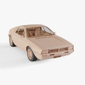 Lancia Montecarlo 3D