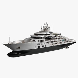 Willie Adventure Luxury Yacht Dynamic Simulation model