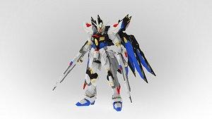 ZGMF-X20A Strike Freedom Gundam model