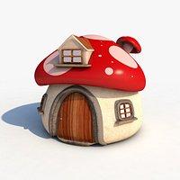 Mushroom House 4K