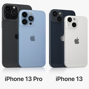 3D iPhone 13 Pro model