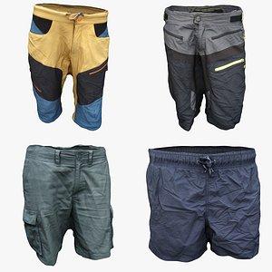 shorts cloth model