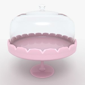 cake stand 3d model
