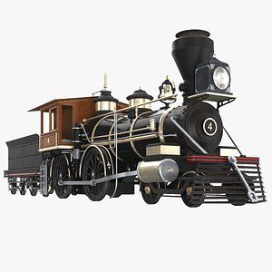 Locomotive Steam Train model