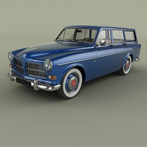 Volvo Amazon Wagon PV220 model