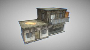 building house apartment model