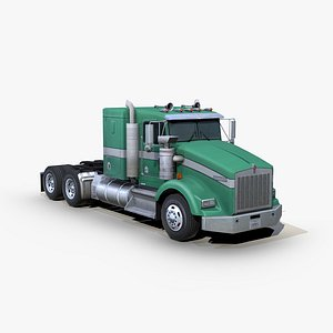 t800 semi truck s01 model