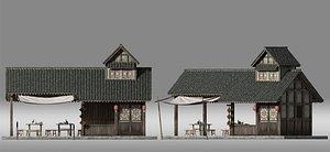 ancient architecture 3D model
