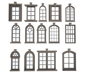 Windows Collections 3D model