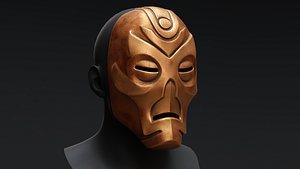 Skyrim Dragon Priest Mask - Volsung 3D model