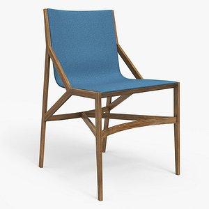 cassina pilotta chair 3D model