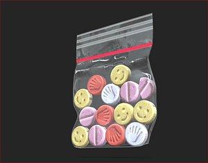 3D Simple Extasy Bag