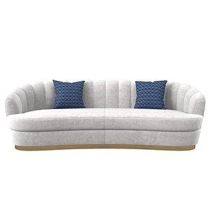 brabbu pearl sofa 3D model