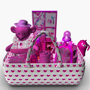 3D pinky Baby Shower gifts