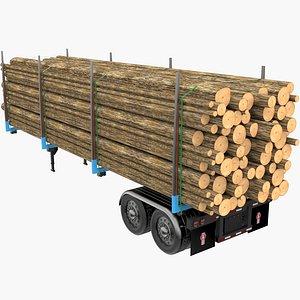 Timber Trailer model