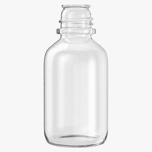 3D model laboratory bottle small 01