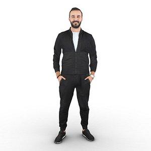 guy standing model