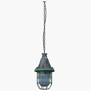 Old Ceilling  Lamp 3D model