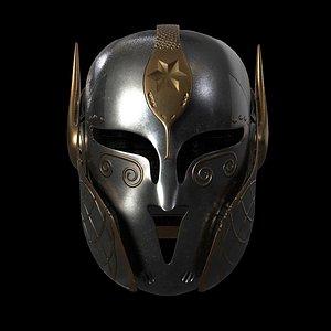 3D model helmet medieval