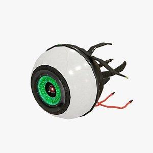 CyberEye 3D model