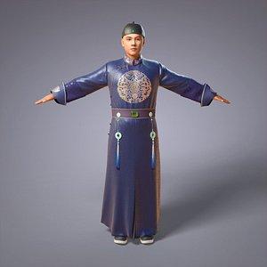 3D model china qing dynasty