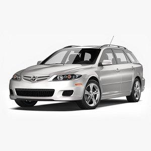 mazda car 3D