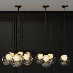 3D pendant lamp