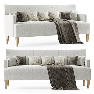brentwood sofa hbf 3D model