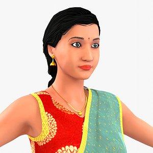 Indian Girl-Meena model
