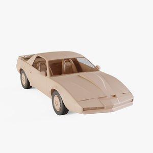 3D model 1982 Pontiac Firebird KITT
