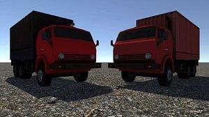 3D - industrial truck