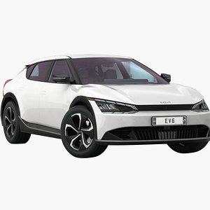 Kia EV6 2022 Low Interior 3D model