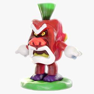 toy monster japanese 3D model