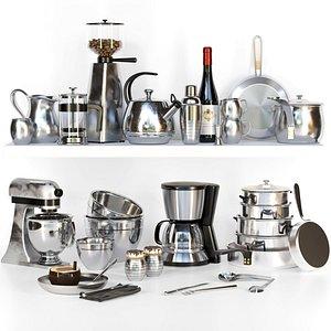 3D kitchen appliances model
