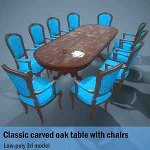 table wedding 3D model