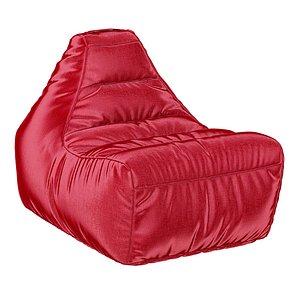 3D model armchair modern cloth