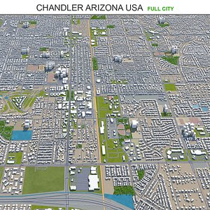 3D Chandler Arizona USA model