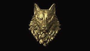 mammal animal wolf 3D model