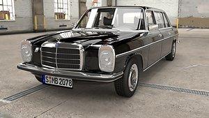 3D 1968 1975 Mercedes Benz W115 Limousine