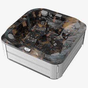 Jacuzzi J 335 Hot Tub Midnight 3D