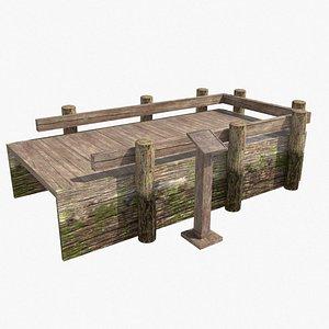 3D Wooden Fishing Peg