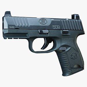 3D FN 509 Compact MRD BLK model