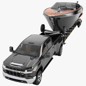 Chevrolet Silverado 3500 HD 2021 16 3D