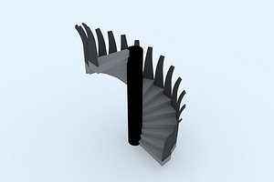 stairs 24 3D model