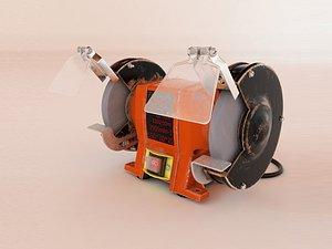 3D model grinder
