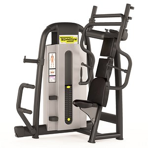 GYM chest exercise machine 3D model