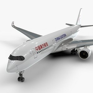a350-900 china eastern airlines 3D model
