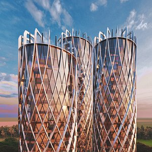 3D buildings future model